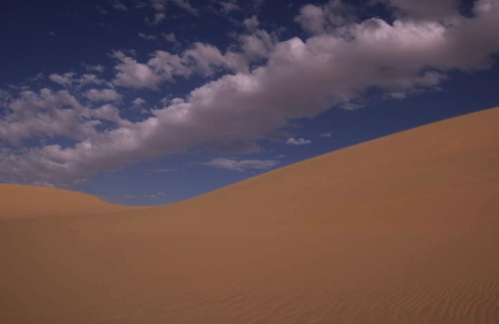 nuvole e dune